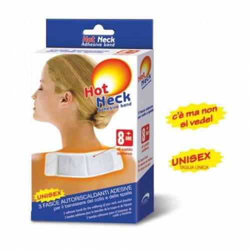 PLANET PHARMA SpA Hot Neck Band Adhesive Duopack 3Fasce Adhesive