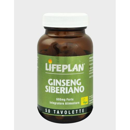 LIFEPLAN PRODUCTS Ltd Lifeplan Sibirischer Ginseng Nahrungserganzung 50 Tabletten