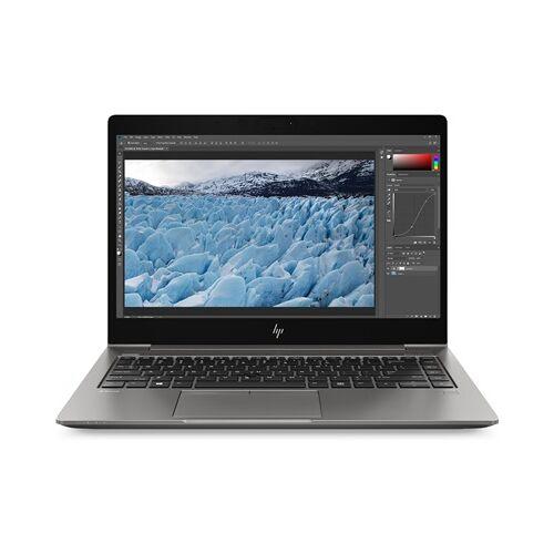 HP ZBook 14u G6 Mobile Workstation mit 4K Display & AMD Radeon™ Pro WX 3200 + Z-Serie Monitor 24