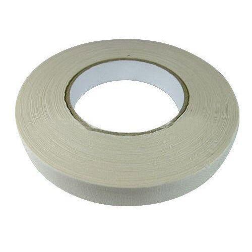 polstereibedarf-online Gewebeklebeband - Stuhlklebeband - Gewebeband Weiss 19mm x 50 Meter