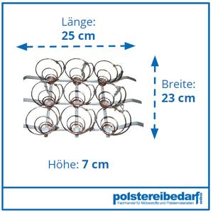 polstereibedarf-online Federkorb 3x3