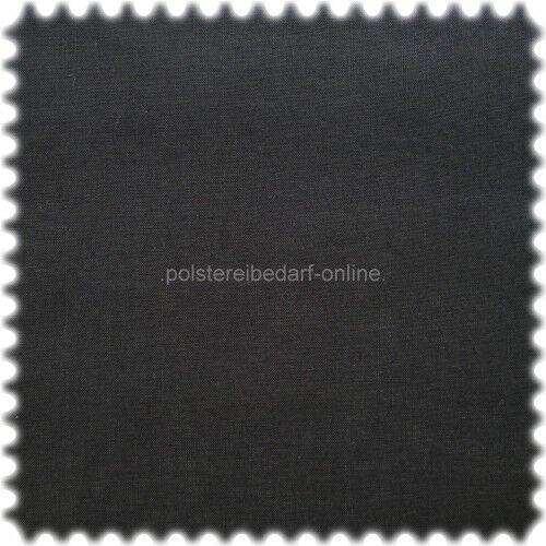 polstereibedarf-online Spannstoff Nessel Zellwolle Schwarz 80cm breit