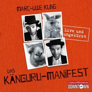 Hörbuch Hamburg Das Känguru-Manifest - Live und ungekürzt