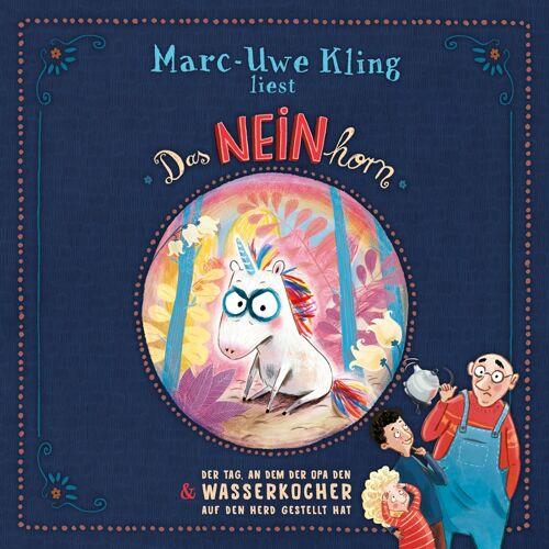 Hörbuch Hamburg Das NEINhorn + Der Tag, an dem der Opa den Wasserkocher auf den Herd gestellt hat