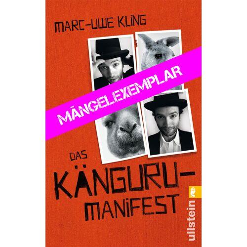 Ullstein Das Känguru-Manifest (Mängelexemplar)