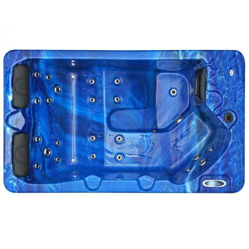 Spatec Jacuzzi Outdoor Whirlpools - SPAtec 300B blau