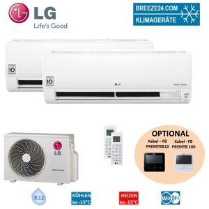 LG Set 2 x PC12SQ NSJ Wandgerät Standard Plus + MU3R21.UE0 LG Klimaanlage