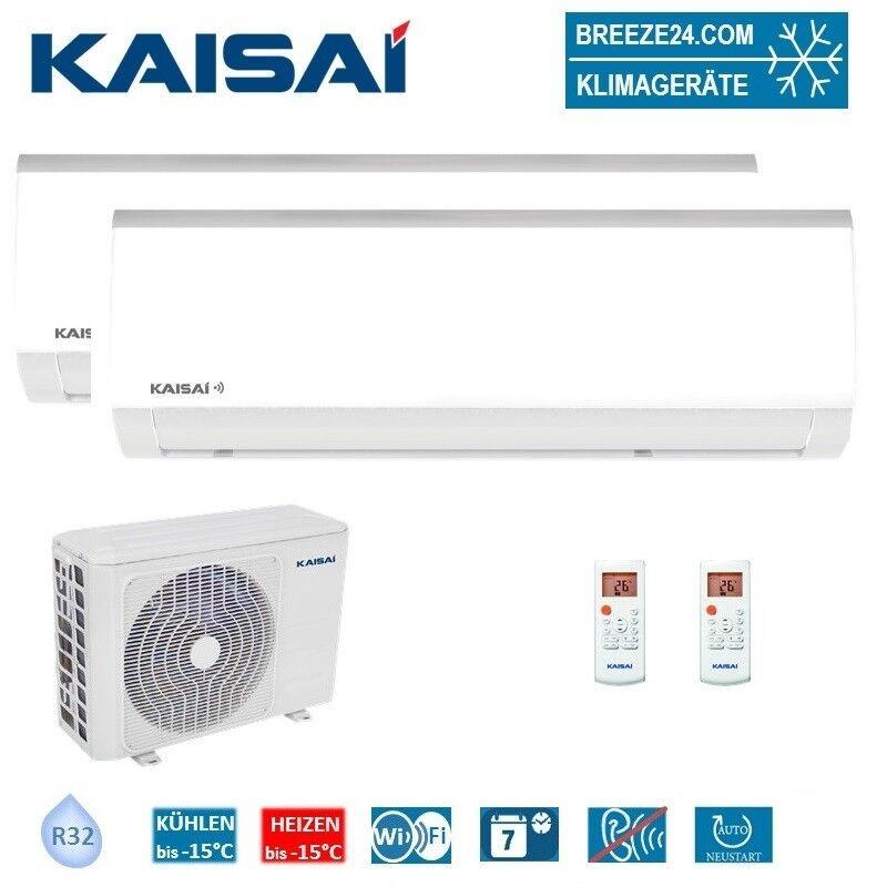 Kaisai Set 2 x KWX-09HRDI Wandgerät Fly 2,6 KW + K40B-36HFN32