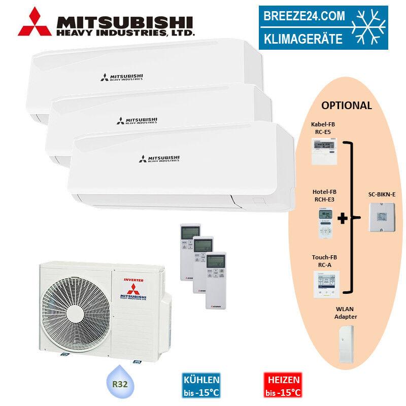 Mitsubishi Set 2 x SRK 25 ZS-W +...