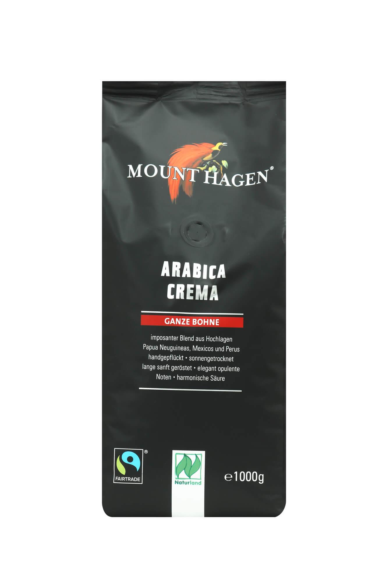 Hagen Mount Hagen Arabica Crema 1kg