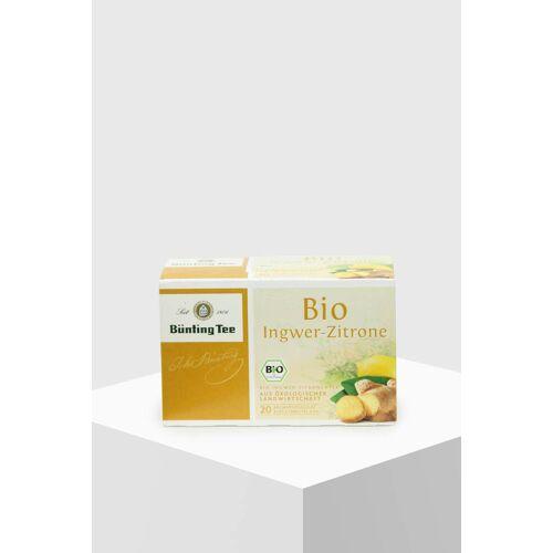 Bünting Bio Ingwer-Zitrone 20 Teebeutel