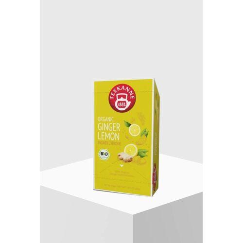 Teekanne Premium Organic Ginger Lemon