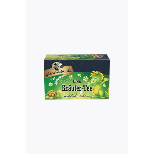 Goldmännchen Kinder Kräuter Tee 20 Teebeutel