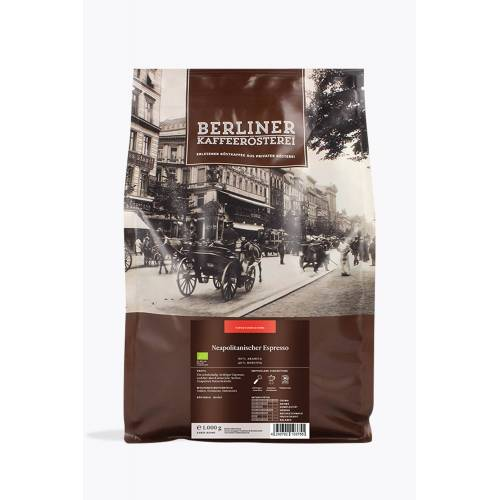 Berliner Kaffeerösterei Neapolitanischer Espresso Bio 1kg