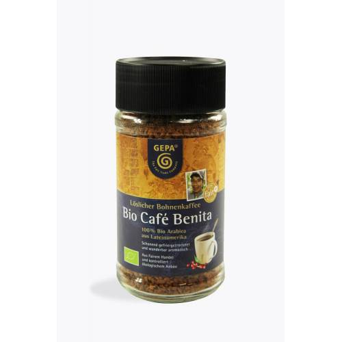 GEPA Bio Café Benita 100g Instant Kaffee