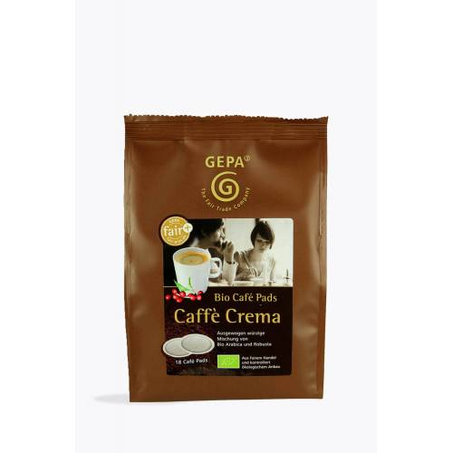 GEPA Bio Crema Pads 18 Senseo® kompatibel