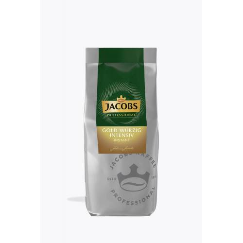 Jacobs Gold Löslicher Bohnenkaffee würzig intensiv  500g