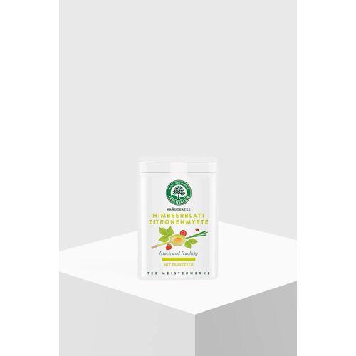 Lebensbaum Himbeerblatt Zitronenmyrte mit Erdbeeren 40g Dose loser Tee