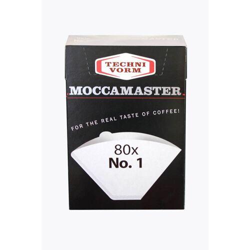 Moccamaster Kaffeefilter Nr. 1 für Cup-One 80 Stück