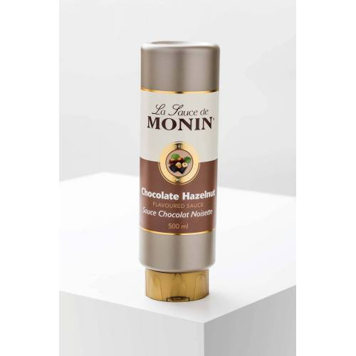 Monin Gourmet-Sauce Schokolade-Haselnuss 500ml