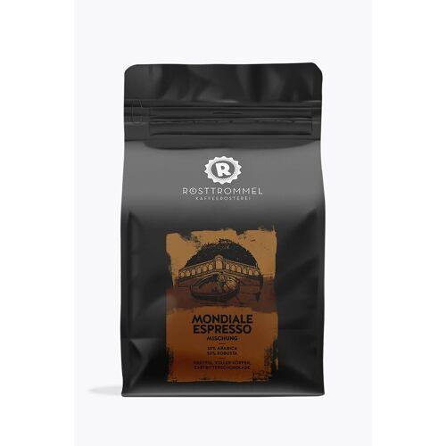 Rösttrommel Kaffeerösterei Mondiale Espresso 1kg