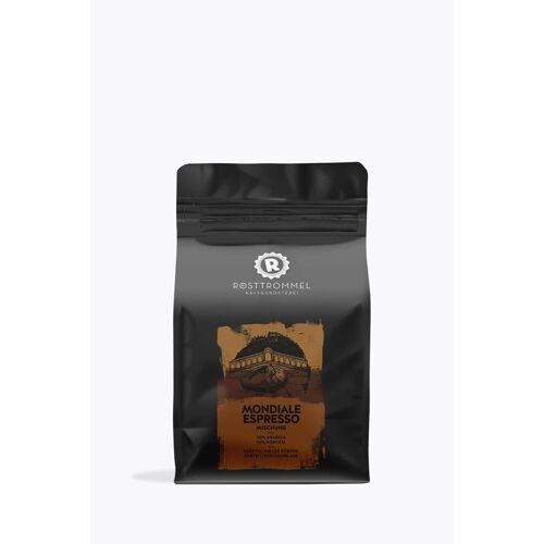 Rösttrommel Kaffeerösterei Mondiale Espresso 250g