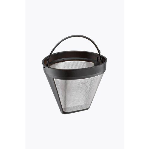 Cilio Dauerfilter für Kaffee Edelstahl Größe 4