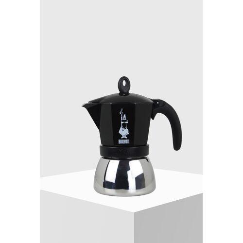 Bialetti Espressokocher Moka Induktion 6 Tassen schwarz