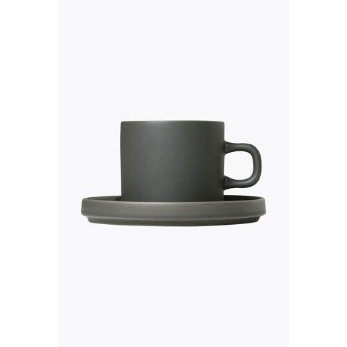 Blomus Pilar Agave Green 2er Set Kaffeetassen