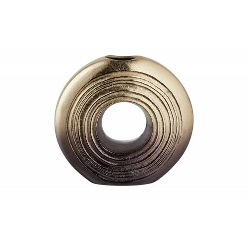 Höffner Vase ¦ gold ¦ Metall