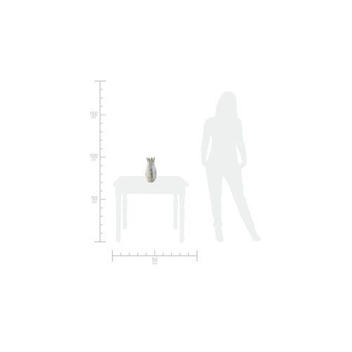 Höffner Vase ¦ silber ¦ Metall