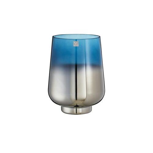 Peill+Putzler Vase ¦ blau ¦ Glas  ¦ Maße (cm): H: 24,5 Ø: 18