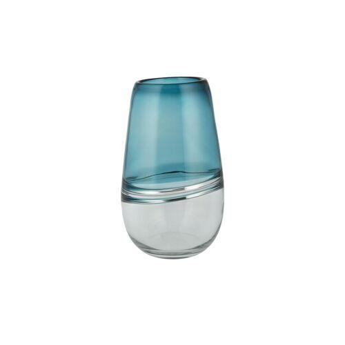 Peill+Putzler Vase ¦ blau ¦ Glas  ¦ Maße (cm): H: 26 Ø: 16