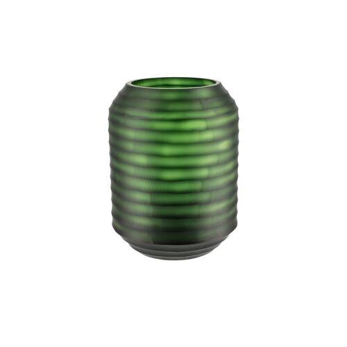 Peill+Putzler Vase ¦ grün ¦ Glas  ¦ Maße (cm): H: 26 Ø: 20