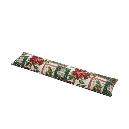 LAVIDA Zugluftstopper  Weihnachten ¦ grün ¦ 100% Polyesterfüllung, 45