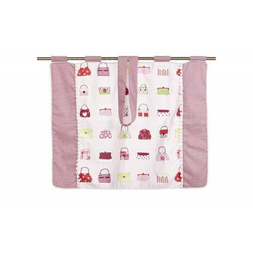 PAIDI Vorhang-Set  Sophia ¦ rosa/pink