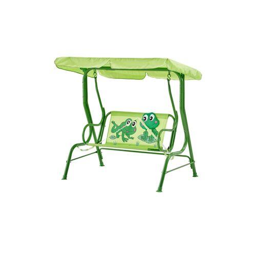 Höffner Kinderschaukel  Froggy ¦ grün ¦ Maße (cm): B: 108 H: 110