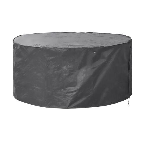 Höffner Schutzhülle für Sitzgruppen ¦ grau ¦ Maße (cm): H: 95 Ø: 200