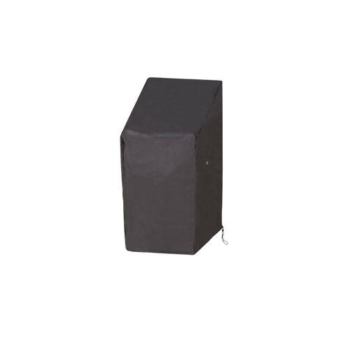Höffner Schutzhülle für Stapel- und Relaxstühle ¦ grau ¦ Maße (cm): B: 65 H: