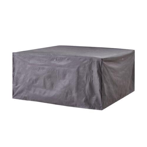 Höffner Schutzhülle für Sitzgruppen ¦ grau ¦ Maße (cm): B: 200 H: 95 T: 200