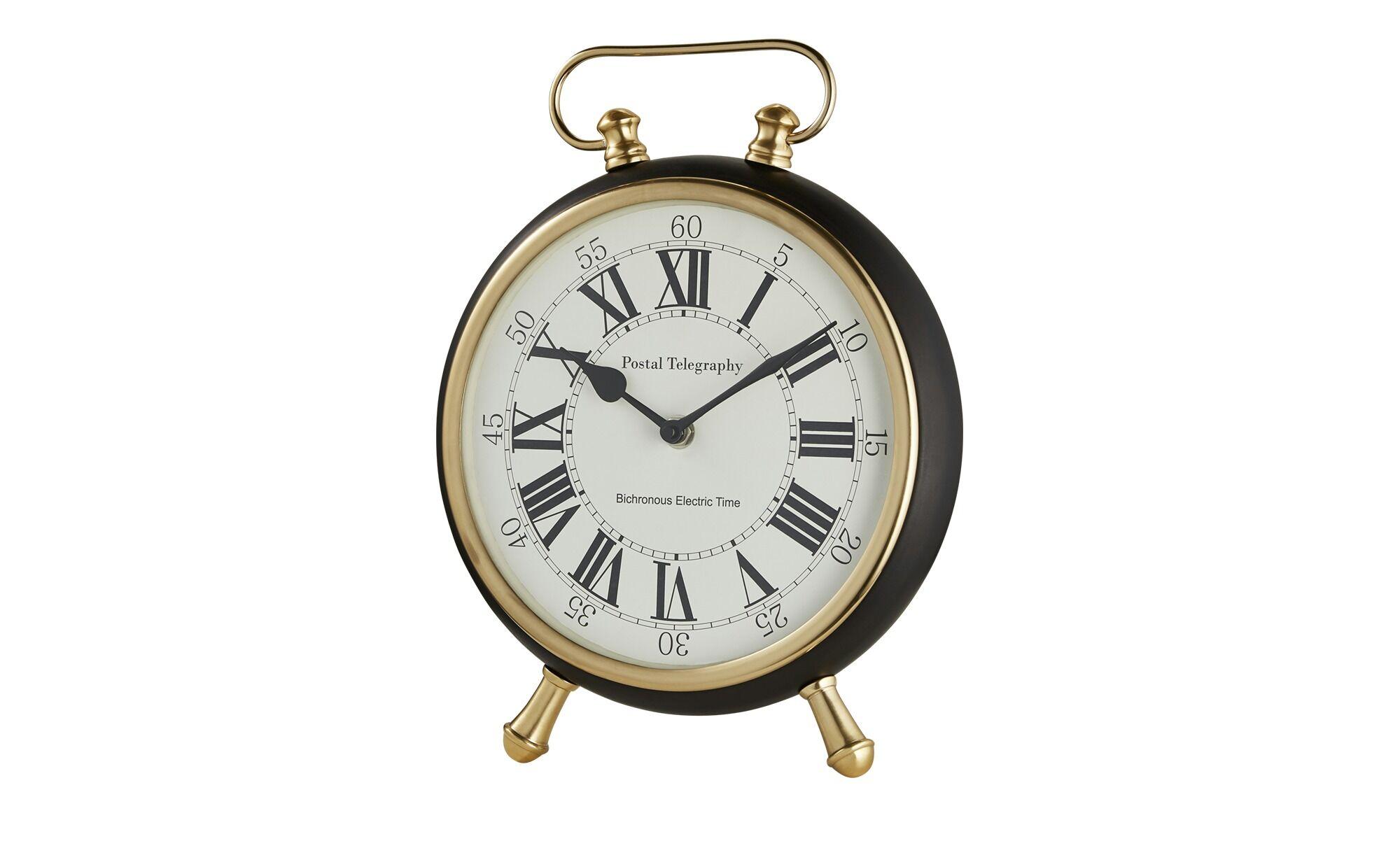 Höffner Uhr ¦ schwarz ¦ Maße (cm...