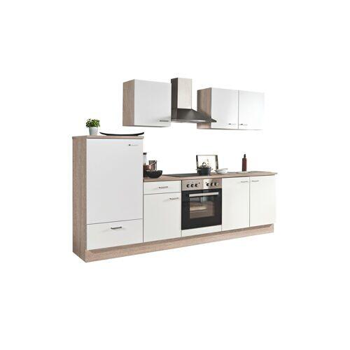 uno Küchenzeile mit Elektrogeräten  Mainz ¦ weiß
