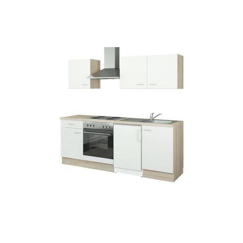 uno Küchenzeile mit Elektrogeräten  Ulm ¦ weiß