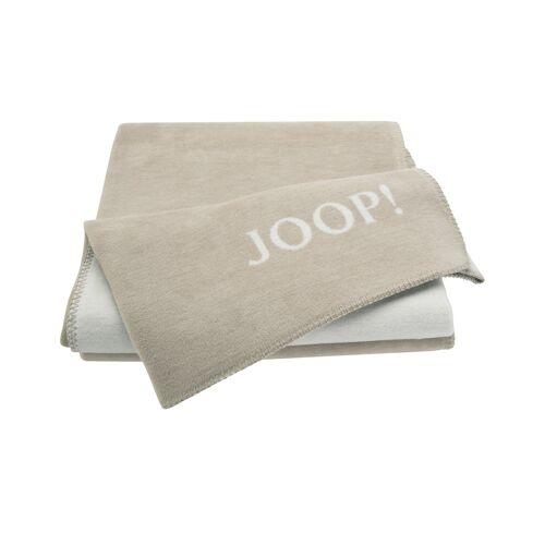 JOOP! Wohndecke-Doubleface  Joop! Uni-Doubleface ¦ beige ¦ 58% Baumwo