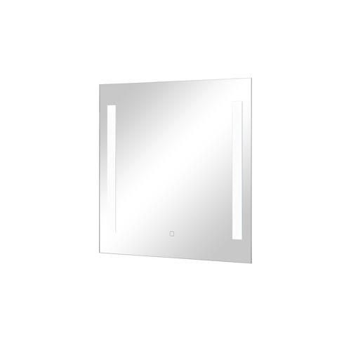 Höffner LED-Badspiegel  Steinsee ¦ verspiegelt