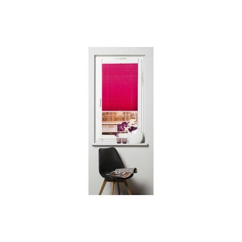 KHG Plissee Klemmfix ¦ rosa/pink ¦ Polyester