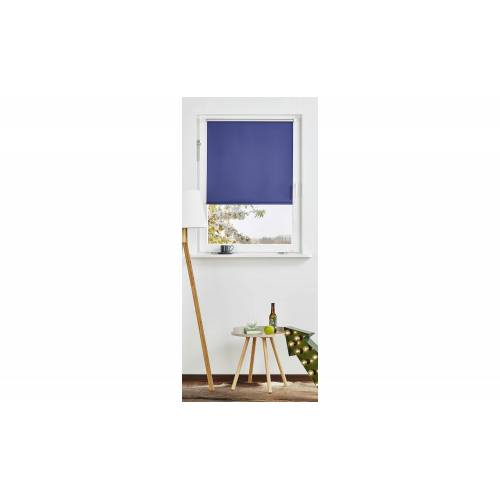 Höffner Rollo Klemmfix ¦ blau ¦ Polyester ¦ Maße (cm): B: 60