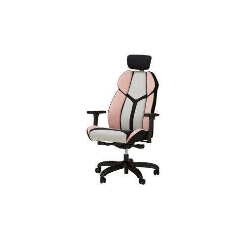 Höffner Gaming Stuhl mit Kopfstütze  Girls Zocker ¦ rosa/pink