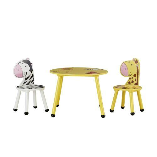 Höffner Kindersitzgruppe  Savanna ¦ gelb