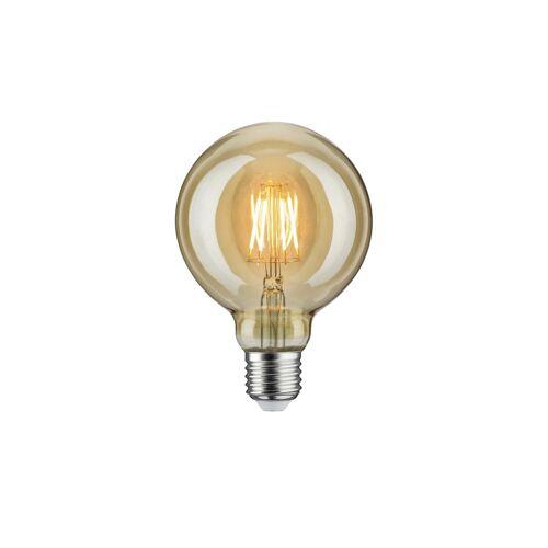 Höffner LED Vintage Globe 95 E27/6,5W gold ¦ Maße (cm): H: 13,8 Ø: 9.5